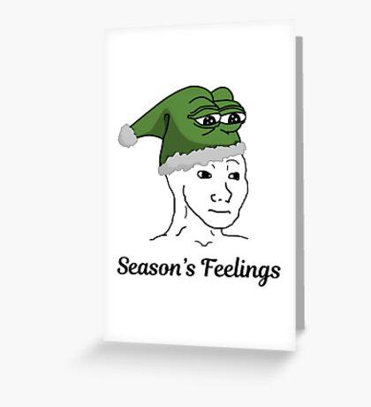 Seasons Feelings Greeting Card