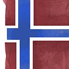 Norway Beer Flag by Herbert Shin