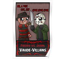 Freddy vs. Jason: Vaude-Villains Poster