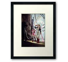 The Moon Princess is back Framed Print