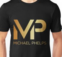 Michael Phelps Gold Logo Unisex T-Shirt