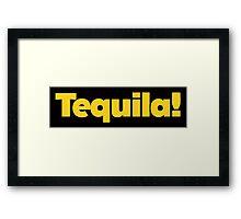 Pee Wee - Tequila Framed Print