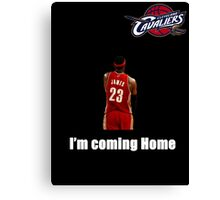 King James is Back Canvas Print