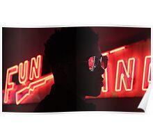 neon fun Poster