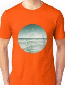 Sunrise in Aqua Unisex T-Shirt