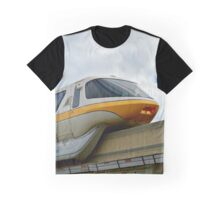 Yellow Monorail Graphic T-Shirt