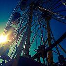 Big Wheel Keep A Turnin' by Lisa Brower