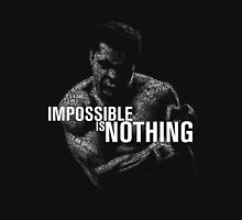 Mohamed Ali - impossible is nothing Unisex T-Shirt