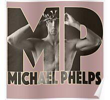 Michael Phelps Logo Poster
