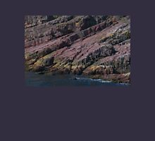 Colours and Textures at Bottom of Cliff Face, Bay Bulls, NL, Canada Unisex T-Shirt