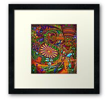 Carnival of the Abyss Framed Print