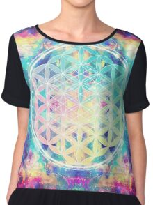Flower Of Life 03 Chiffon Top