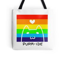 Gay Purr-ide  Tote Bag