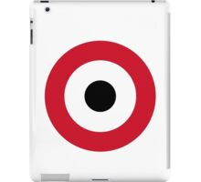 Egyptian Air Force Roundel  iPad Case/Skin