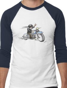 HARKEY STYLE BIKER Men's Baseball ¾ T-Shirt
