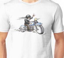 HARKEY STYLE BIKER Unisex T-Shirt