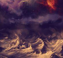 Stormy ocean by Jamie Gillam