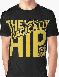 The Tragically Hip Tour 2016 Black Graphic T-Shirt