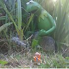 the Adventures of Lego Me- Attack of the Giant Frog by inesbot