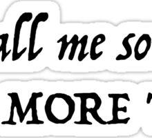 Hamilton~Call me son ONE MORE TIME~Meet Me Inside Lyrics Sticker