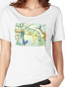 Rainforest Reptile Women's Relaxed Fit T-Shirt