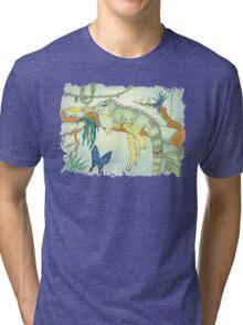 Rainforest Reptile Tri-blend T-Shirt