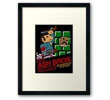 Super Ash Bros. (Poster, Etc.) Framed Print