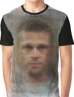 Tyler Durden Brad Pitt Fight Club  Graphic T-Shirt