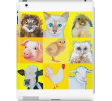 Animal Collage iPad Case/Skin