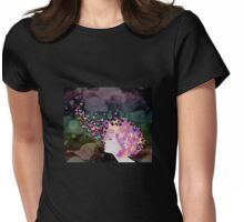 Butterfly thoughts Womens Fitted T-Shirt