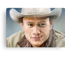 Heath Ledger Metal Print