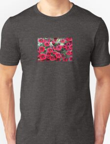 Red Flowers For You! Unisex T-Shirt