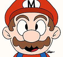 Super Mario by CarinaDrawings