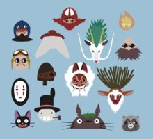 Many faces of Ghibli Kids Clothes