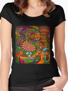 Carnival of the Abyss Women's Fitted Scoop T-Shirt
