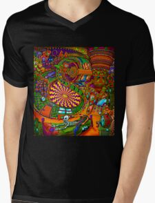 Carnival of the Abyss Mens V-Neck T-Shirt
