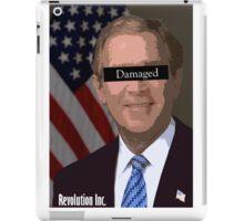 George Bush Damaged iPad Case/Skin