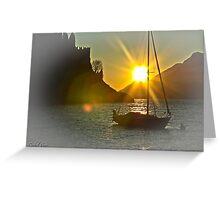 Malcesine / Lake Garda / Italy ~ 01 Greeting Card