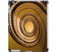 Spirals in orange iPad Case/Skin