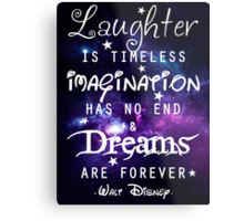 Walt Disney Metal Print