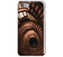 Spirals in brown iPhone Case/Skin