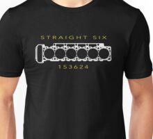 6 Cylinder V6 Motor Straight-Six Inline-Six Engine Unisex T-Shirt
