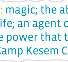 Camp Kesem Sticker