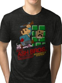 Super Ash Bros. (T-shirt, Etc.) Tri-blend T-Shirt