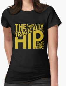 The Tragically Hip Tour 2016 Black Womens Fitted T-Shirt