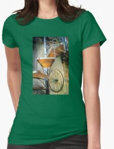 Staircase Womens Fitted T-Shirt