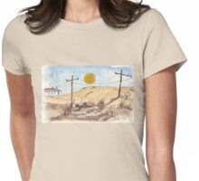 'n Stil, warm Sondagmiddag | A hot Sunday afternoon... Womens Fitted T-Shirt