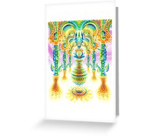 Palace of Gold Greeting Card
