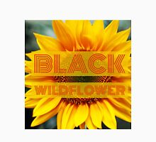 Black Wildflower II Unisex T-Shirt