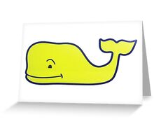 Vineyard Vines Whale Greeting Card